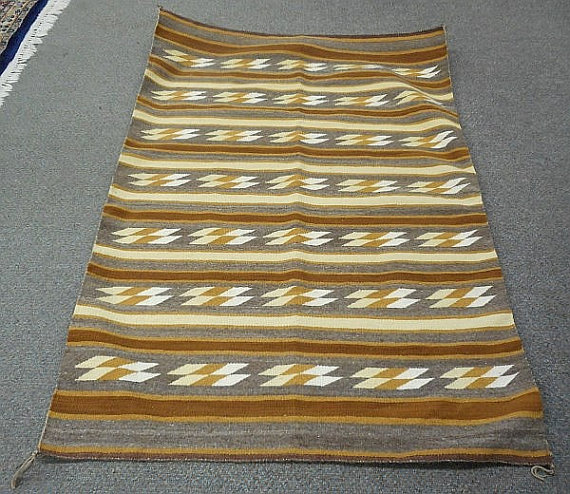 Native America, Navajo Weaving/Rug, Ca 1970's, #890