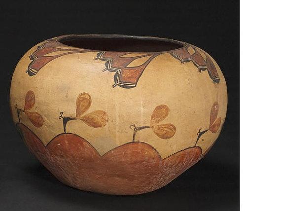 Zia : Historic Zia Polychrome Jar #193