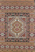 Navajo Burntwater Rug, Native American Rug, Navajo Weaving/rug, Navajo Textiles, Woven Rug, Jennie Thomas, Burntwater Tapestry #598