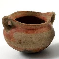 Historic Native American Pottery Pot, Ca Late 1800's, Curiosity #7, #948