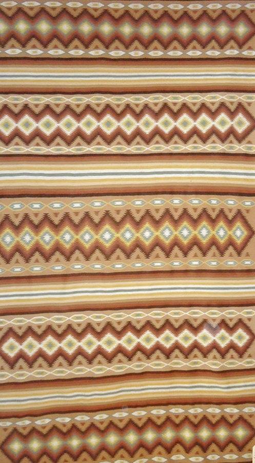 Native American Navajo Weaving/Rug, Ca 1970-90, #840