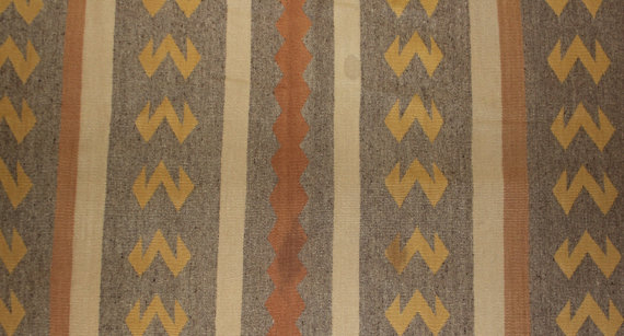 Navajo Rug : Fine All Vegetal Colored Navajo Rug #62