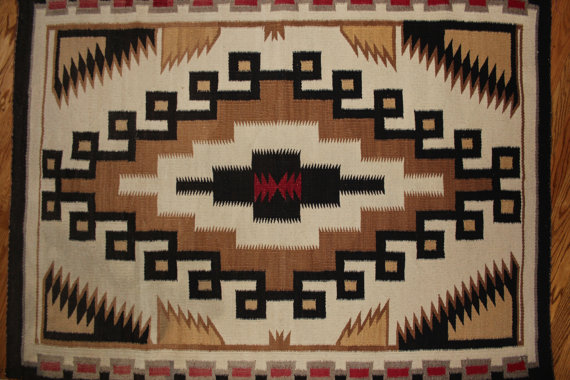 Vintage Navajo Weaving #88 b