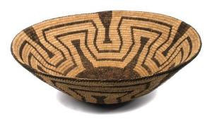 Native American Large Pima Basket Bowl, #817