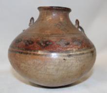 Pottery Jar : Very Nice Pre-Columbian Wari Pottery Jar From Peru