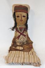 Peruvian Doll : Large Chancay Peruvian Funerary Doll