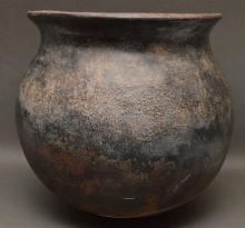 Historic Tohono O'odham (Popago) Pottery Olla, Ca 1920-30?s