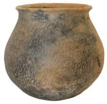 Casas Grandes Plain and Textured Ware Jar, (Utility Ware) Ca 700 AD to 1450 AD