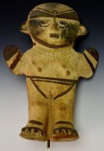 Pre Colombian Chancay Female Modeled Hollow Figure: Ex Sotheby?s