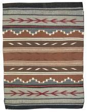 Native American Navajo Crystal Rug/Weaving by Marietta Begay, Ca. 1970s