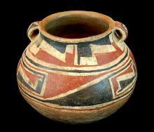 Pottery, Handmade Pottery : Great Casas Grande Pottery Handled Jar