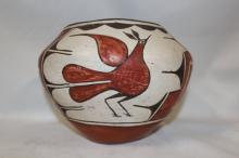 Native American Pottery : Great Zia Polychrome Pottery