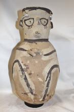 Pottery Jar : Very Large Pre-Columbian Chancay Pottery Storage Jar