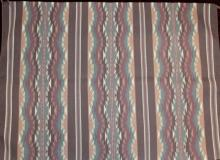 Native American, Navajo Pine Springs Weaving/Textile/Rug, attributed to Anna Clyde, #935
