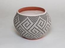 Acoma Pottery by Frederica Antonio, 1980's
