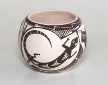 Acoma Pottery by Rachel Concho, 1980