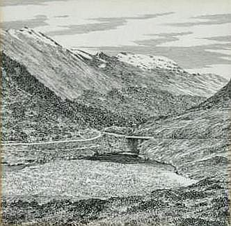 Alfred Wainwright (1907-1991) Saileag and Sgurr a'