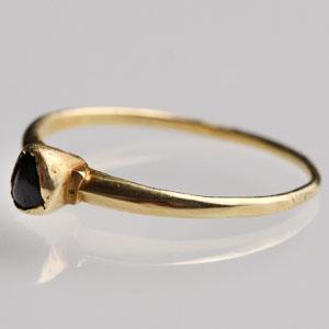 Medieval Gemstone Ring: NO RESERVE