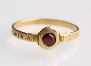 Medieval Garnet Ring: NO RESERVE