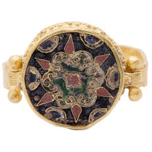 Byzantine Cloisonne Ring