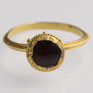 Byzantine Cup Bezel Ring: NO RESERVE