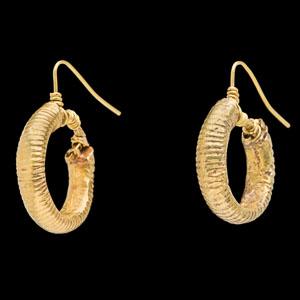 Eastern Greek or Achaemenid gold earrings