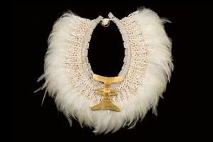 Pre-columbian Diquis Gold Eagle Pectoral