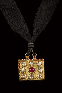Old Indian Reliquary Pendant