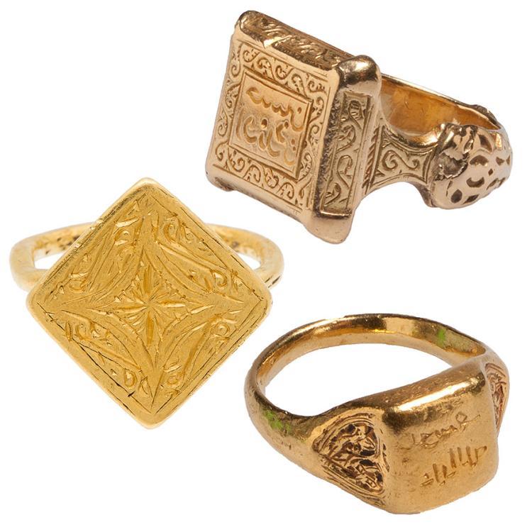 Three Islamic Rings