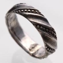 Medieval Twisted Band Ring