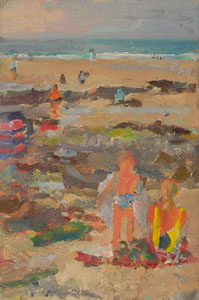 John Harvey - Summer Beach, West Cornwall
