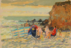 John Harvey - The Windbreak, West Cornwall