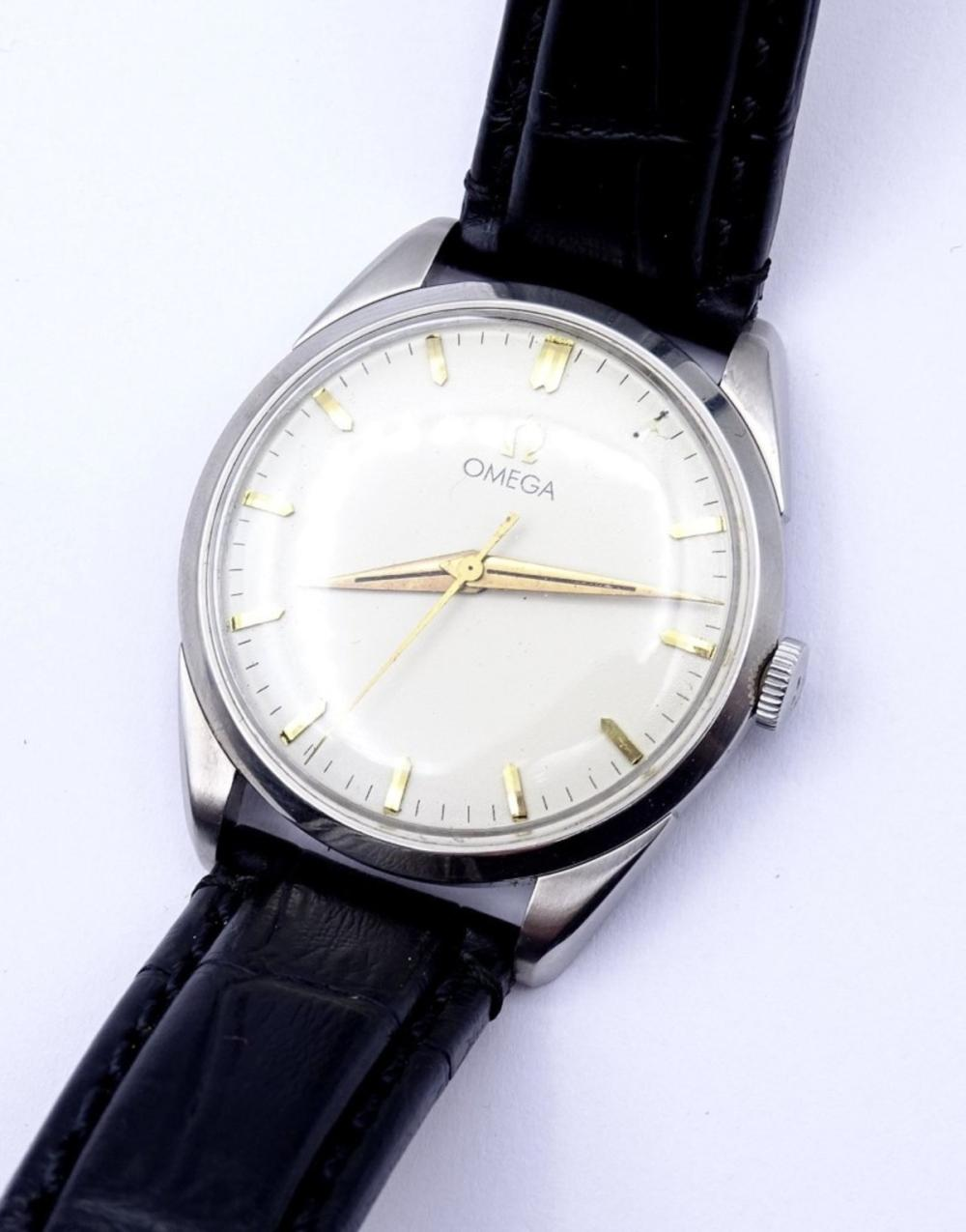 """Herren Armbanduhr """"Omega"""",Cal. 284,mechanisch"""