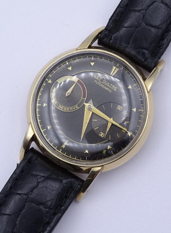 "Herren Armbanduhr ""Jaeger LeCoultre"" Futurematic,Cal.497,Automatikwerk"