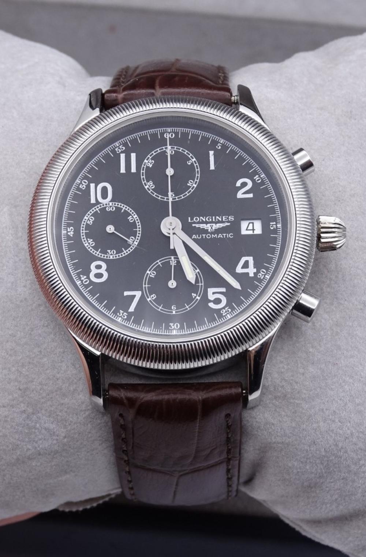 """Herren Armbanduhr """"Longines"""", L79874, wohl Fliegeruhr,Automatikwerk"""