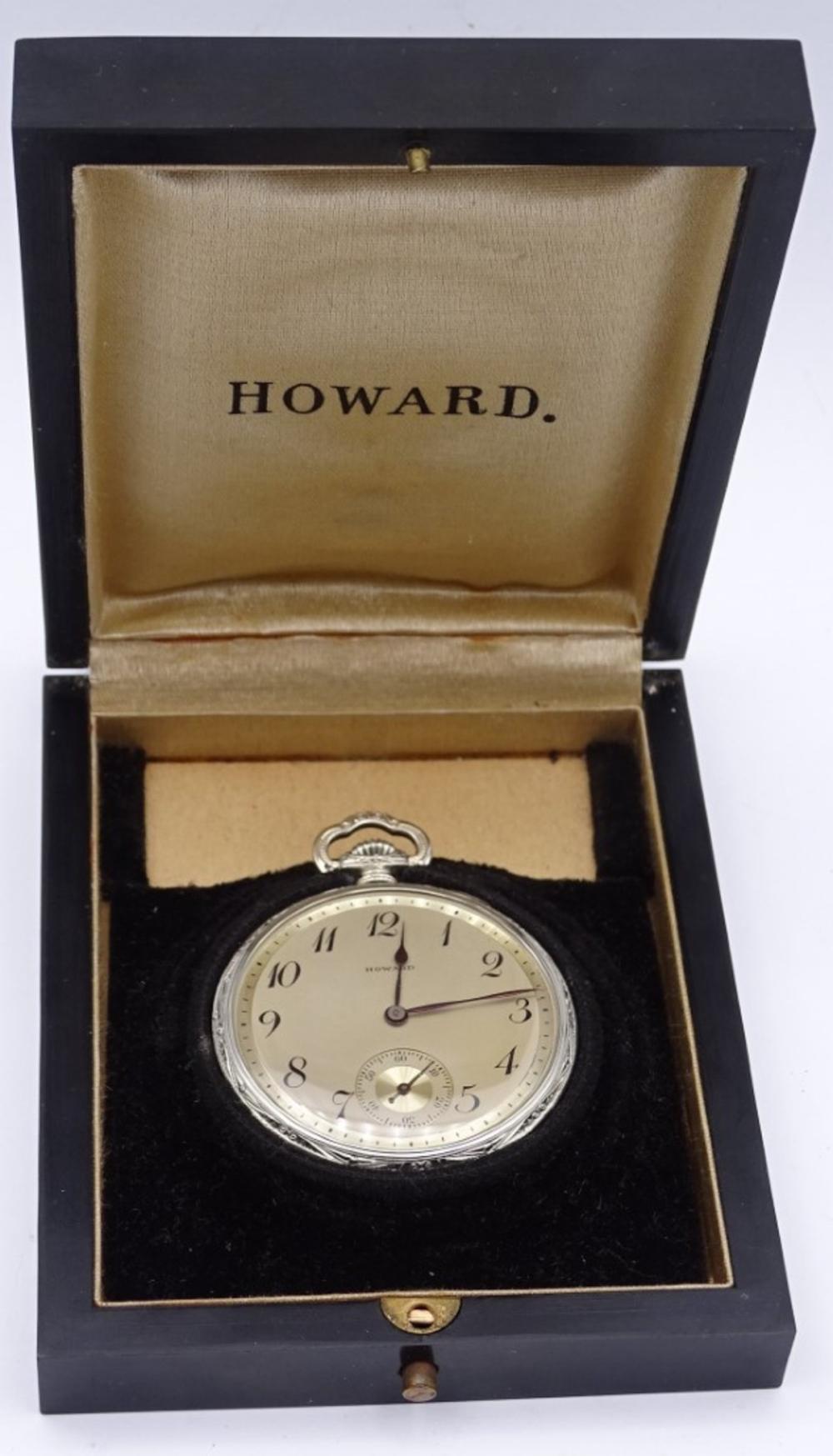 "HTU ""Howard"", (E.Howard) ,Temperature 3 pos.,D-46mm,in Etui,guter Zustand"