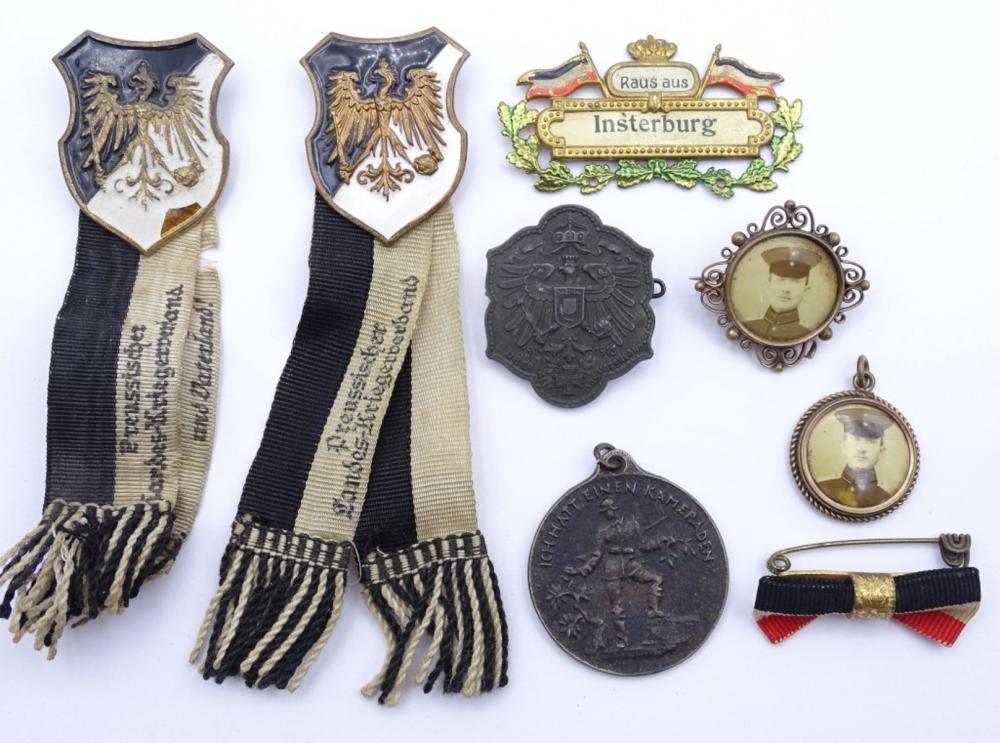 Konvolut Abzeichen,Medaillen und Anstecker