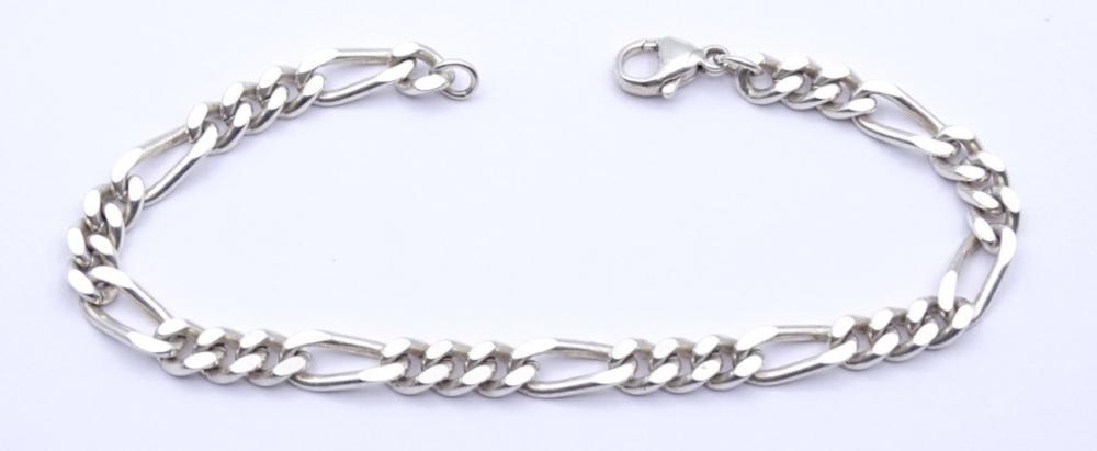 Herren Silber Armband ,Sterling Silber 0.925, L- 21cm