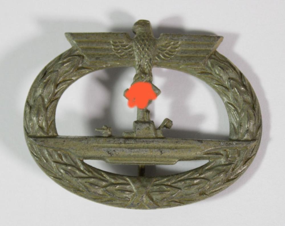 U-Boot Kriegsabzeichen, 3. Reich