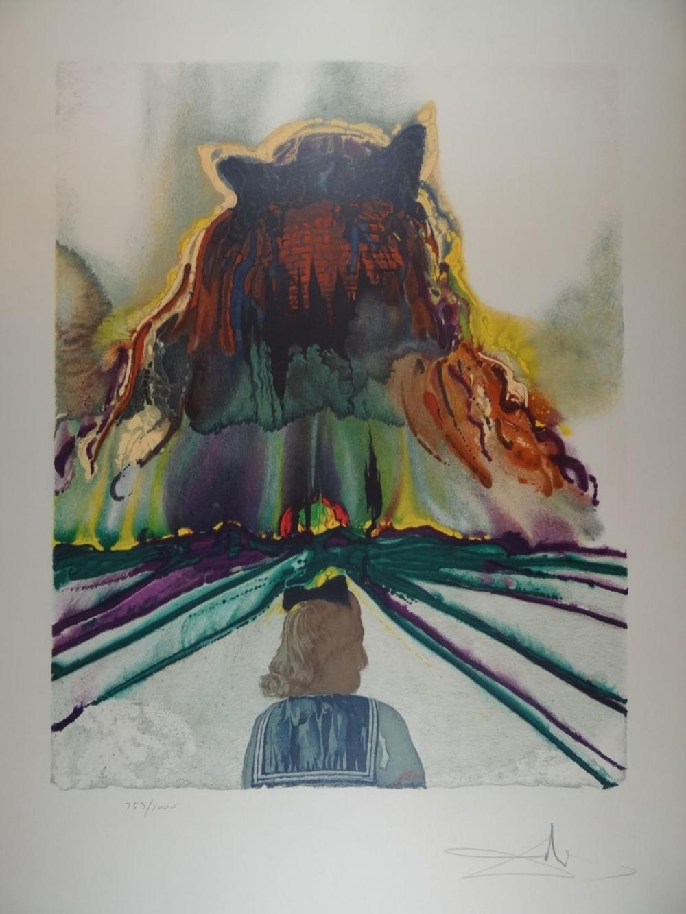 Salvador DALI (1904-1989) Four Dreams of Paradise (1973) 4 Lithografien