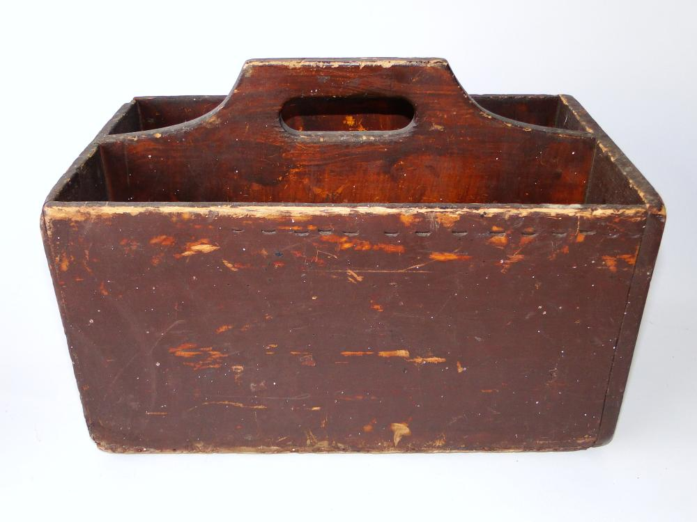 19TH C PAINTED CARRIER