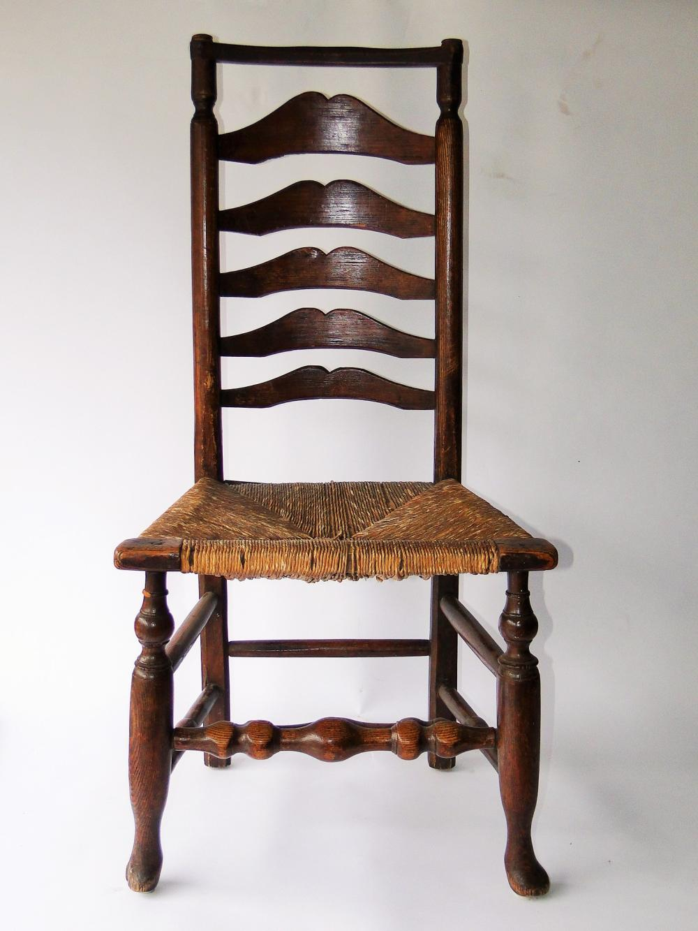 WILLIAM AND MARY PERIOD CHAIR