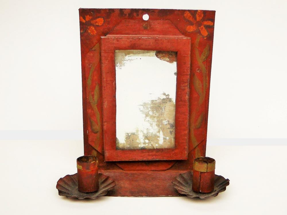 19TH C DOUBLE CANDLE SCONCE