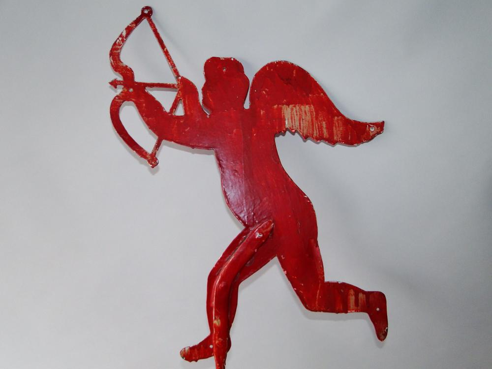 EARLY CUPID WITH BOW WEATHERVANE