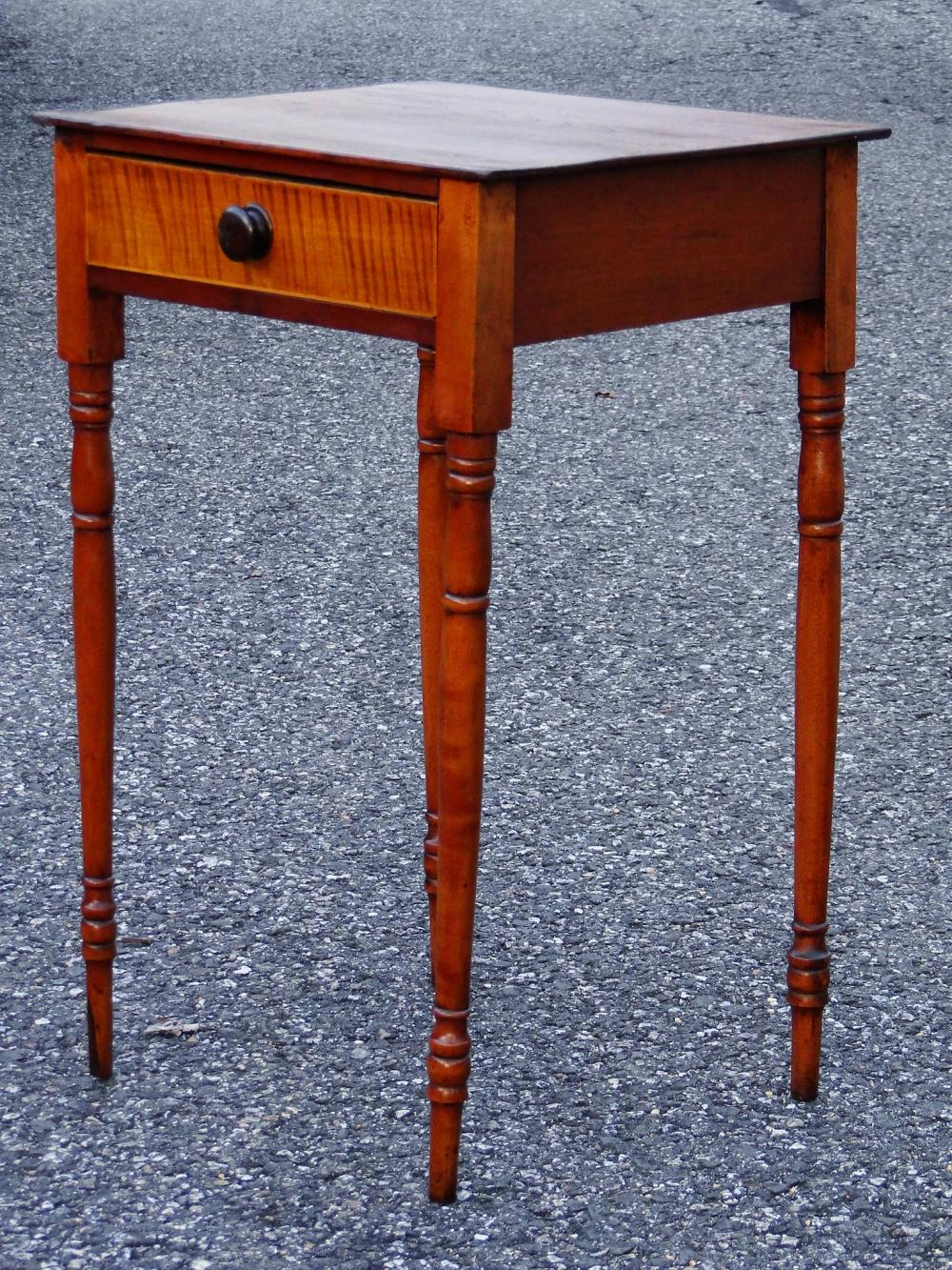 19TH C ONE DRAWER STAND