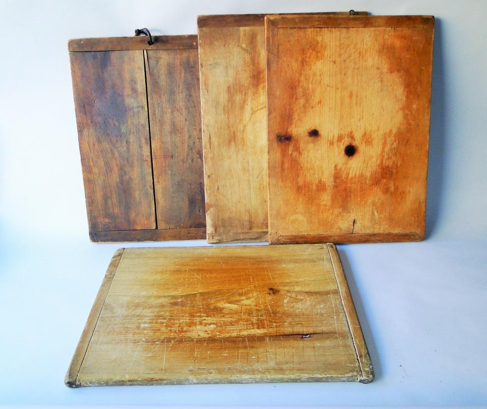 LOT OF FOUR CUTTING BOARDS