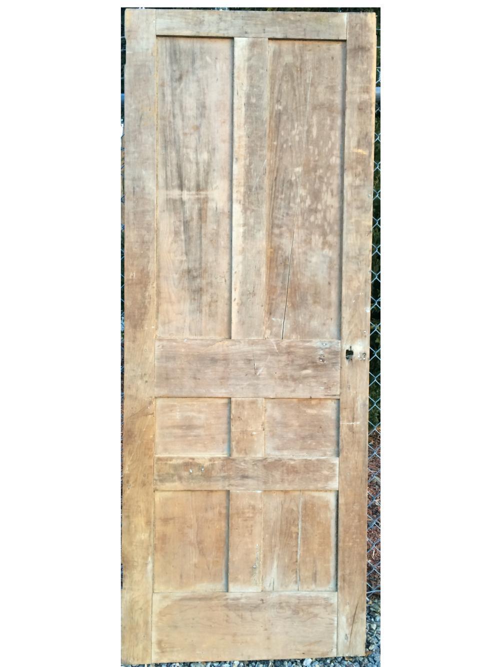 EARLY 18TH C PANELED  DOOR
