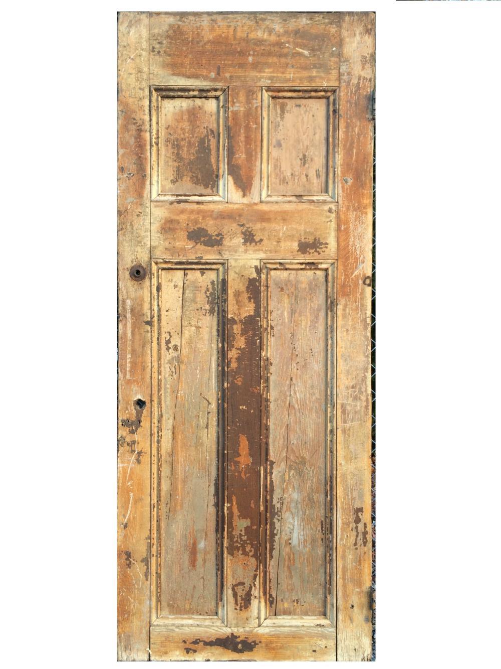 LARGE 18TH C PANELED DOOR