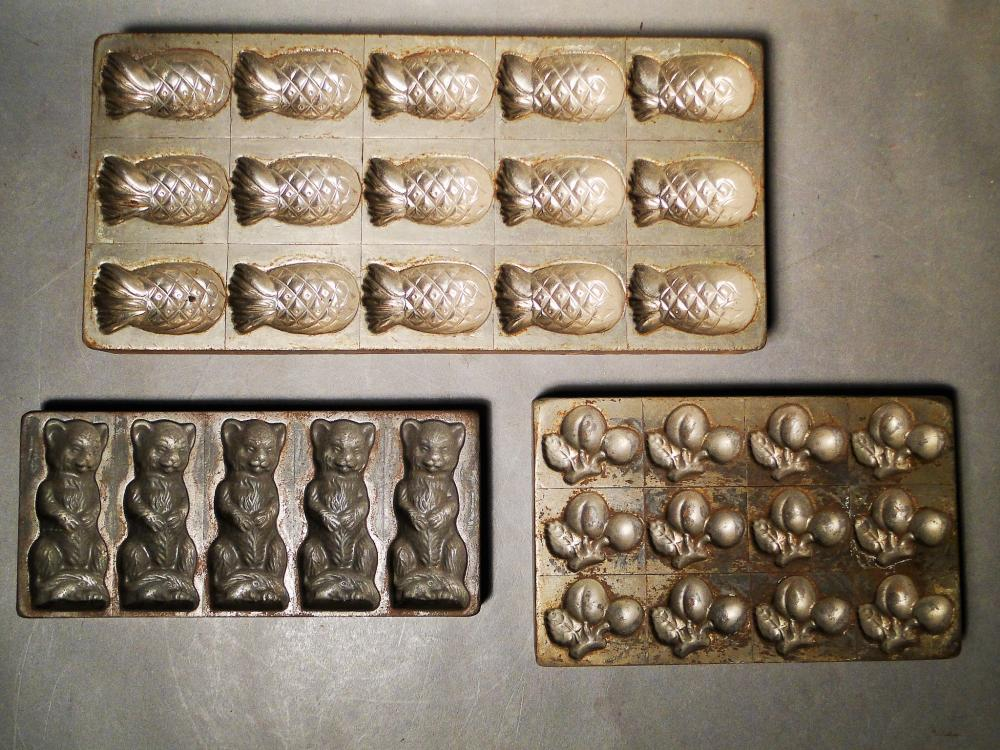 19TH C FRENCH / GERMAN CHOCOLATE MOLDS