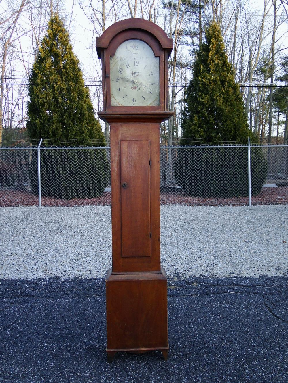 C 1830 RILEY WHITING TALL CASE CLOCK
